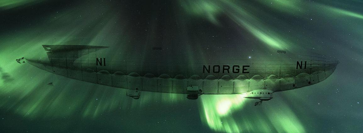 Umberto Nobile's flight into the arctic