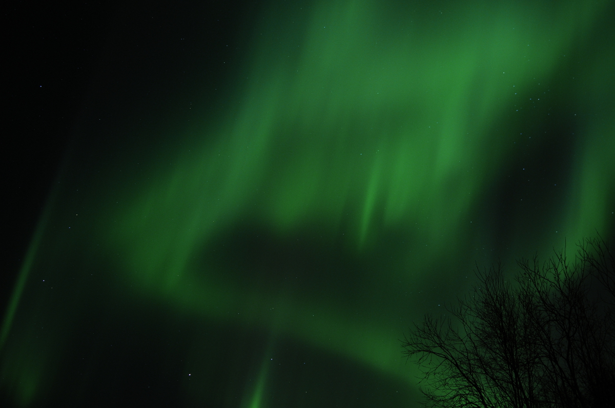 When the Aurora Appears