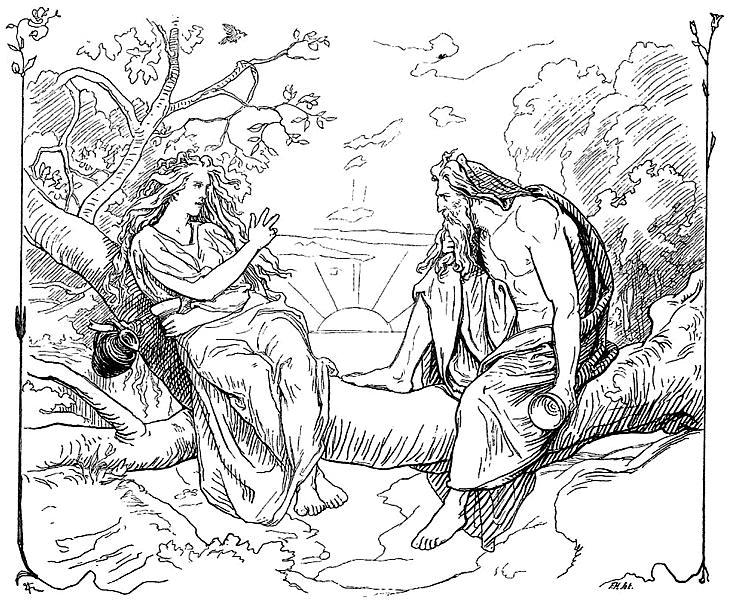 Odin, the God of Wine Lovers